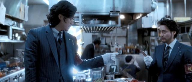 小栗旬と山田孝之を起用した、富士通コネクテッドテクノロジーズのスマートフォン「arrows」のCM「割れない刑事」シリーズ