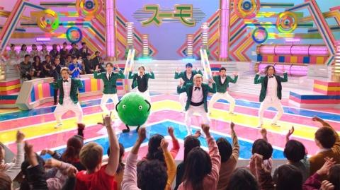 「スーモとDA PUMP 歌番組編」。もともと若年層がターゲットだったが、DA PUMPの起用で30~40代の取り込みにも成功