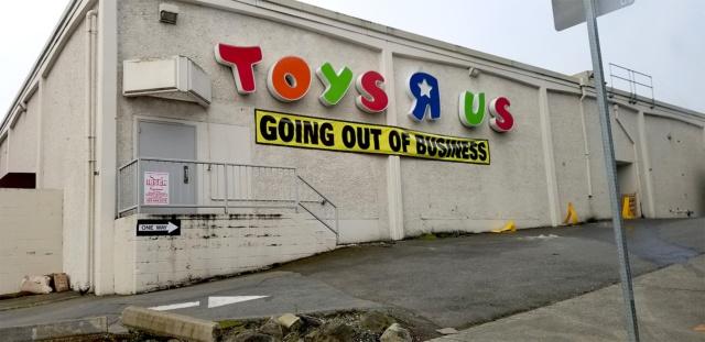 米トイザラスは2018年6月末に全店舗を閉鎖した