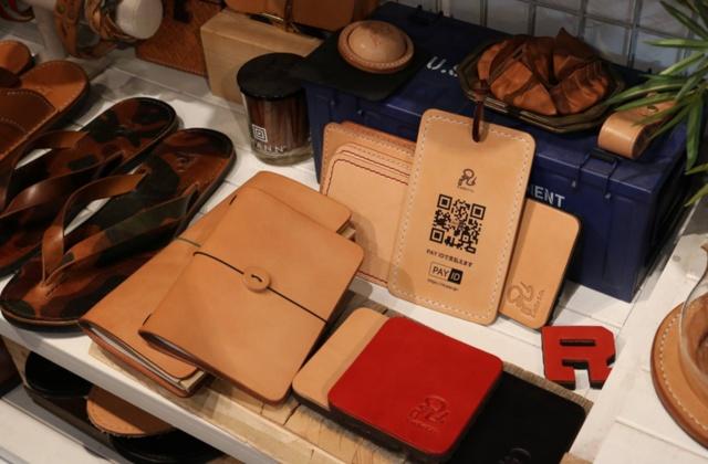 「PAY ID」を導入する革商品専門店の「アールアトリエ ドゥトラバイユ 中目黒」