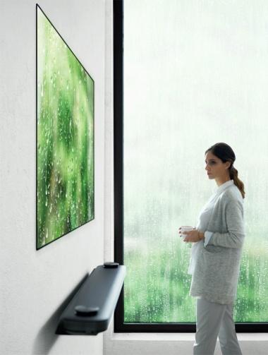 """""""壁紙テレビ""""「LG SIGNATURE OLED TV W」シリーズ(画像出典/LGエレクトロニクス)"""
