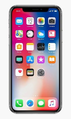 「iPhone X」は画面上部が欠けるのが不満。アイコンの配置もバランスが悪く感じる