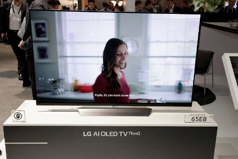 LGはAI技術を搭載した有機ELテレビの新ブランド「LG AI OLED TV ThinQ」を発表した