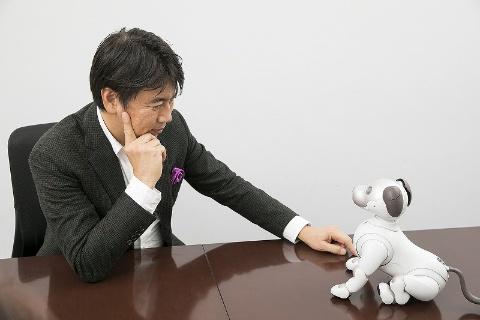 前刀禎明氏、aiboに向き合う