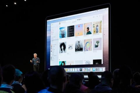 次期macOSには「Apple Music」などのアプリケーションが搭載される(出所/アップル)