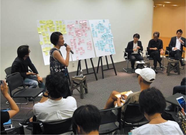 6月13日に開催された「『デザイン経営』宣言カンファレンス」の模様。研究会の委員と日本デザイン振興会が連携し、報告書の内容について討論する「場」を用意したもの。100人以上のデザイナーやクリエイターが来場した