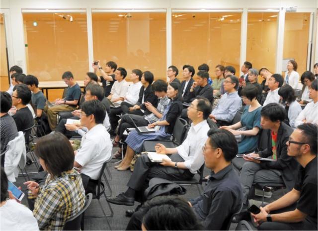 7月13日には2回目のカンファレンスが開催され、盛況だった。カンファレンスの終了後は、参加者と委員が活発に意見交換するなど、関心の高さがうかがえた