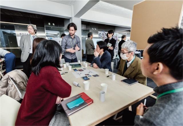 RCA × IIS Tokyo Design Labでのワークショップ。「DESIGN ACADEMY」では、デザインとイノベーションに関するプログラムを充実させる(写真提供/IIS)