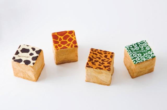 シュークリームなのに四角い「キューブシュークリーム」はパティスリーブラザーズの看板商品の一つ