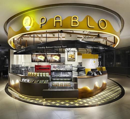 2018年9月時点で15店舗と海外出店にも積極的(写真はタイにあるPABLO Bangkok Siam Paragon Mall店)