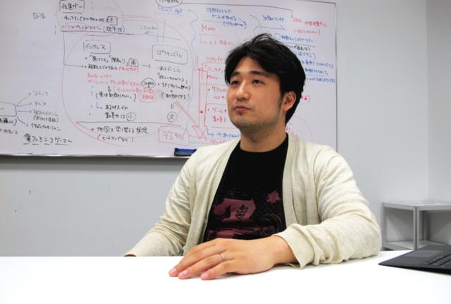 バカーの斉藤大地社長。同社の前身は、2015年にスタートしたインディーゲームの連載プラットフォーム「ゲームマガジン」。斉藤氏は、『殺戮の天使』や『被虐のノエル』といったインディーゲームのメディアミックス展開を仕掛け、ヒット作に育ててきた