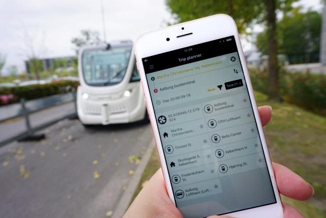期間限定で公開されたデンマークのMaaSアプリ「MaaS MinRejseplan」