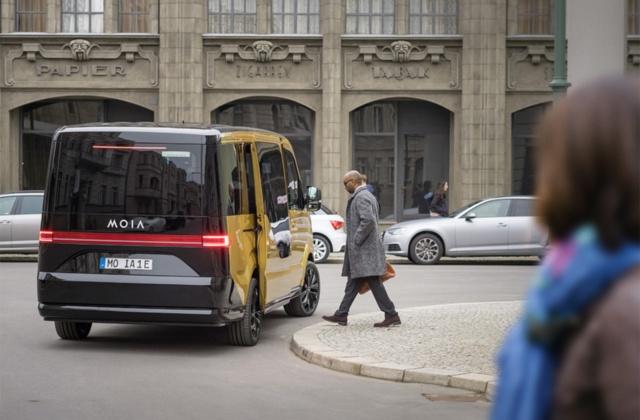 フォルクスワーゲン傘下のMOIA(モイア)は、乗り合い型のライドシェアサービスを担う
