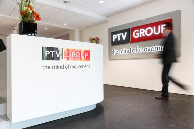 ドイツのカールスルーエ市に本拠を構えるPTVは、交通・物流関連の大手企業