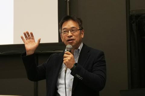 アースアイズ 代表取締役の山内三郎氏