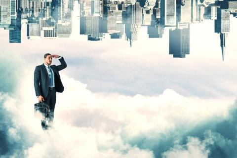 見たこともないことを実現するために挑戦する起業家精神を象徴するイメージ(写真/Shutterstock)