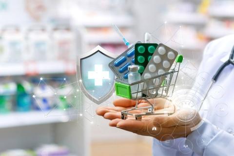 オンライン薬局のイメージ(写真/Shutterstock)