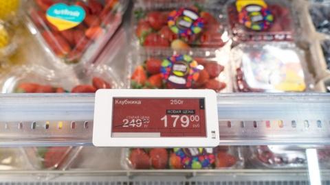 独自アルゴリズムに従って価格を調整する電子値札のイメージ(写真/Shutterstock)