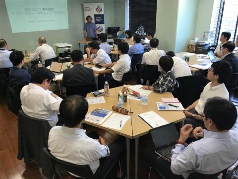 一般社団法人Japan Innovation Networkが開催する「ISO56002」のセミナーは毎回、満員になるなど注目度は高い