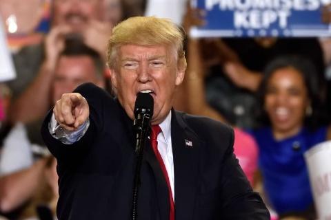 トランプ大統領の再選を阻むべく、候補者の動きが出てきた(写真:Evan El-Amin / Shutterstock.com)
