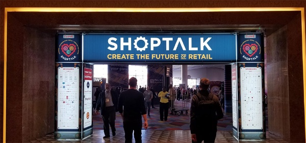 Shoptalk 2019の会場(米ラスベガスのホテル)