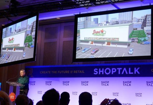 AIやロボットのテクノロジーを活用した次世代型店舗の講演も多かった(米アラートイノベーション)