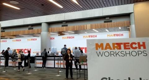 MarTech Westの会場(米カリフォルニア州サンノゼ)