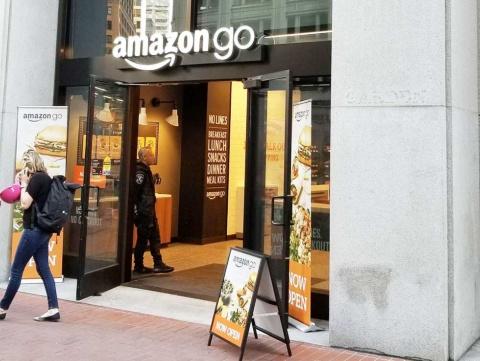 サンフランシスコの中心街に開いた、Amazon Goの市内3号店