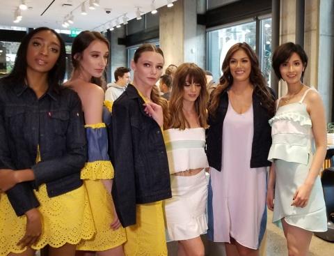 サンフランシスコのb8taで開催されたIoTのファッションショー