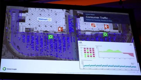 オービタルはウォルマートなど大手リテールの駐車場を定点観測している