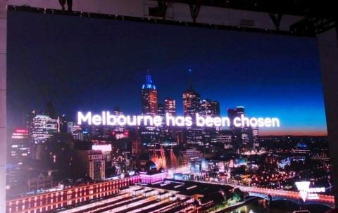 第3の実証試験都市はメルボルンに