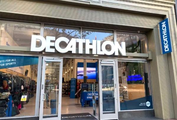 デカトロンのサンフランシスコ店(米カリフォルニア州)