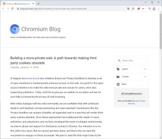 グーグルはChromeのブログでサード・パーティ・クッキーのサポート廃止の方針を表明した
