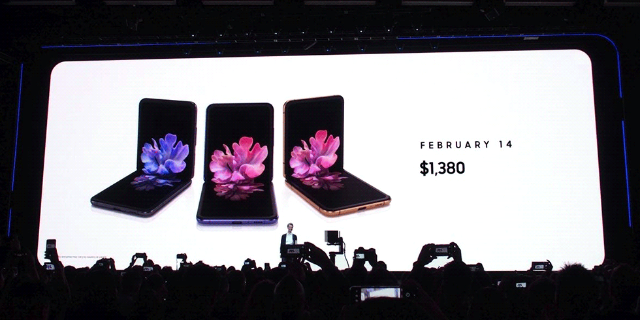 折り畳みスマホの新型「Galaxy Z Flip」2020年2月14日に1380米ドルで発売する