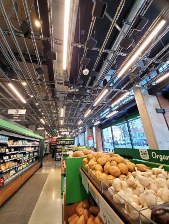 Amazon Go Groceryの青果売り場