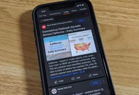 ローカルニュースアプリの「News Break」