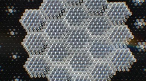 セラミックシールドの製法を説明するビデオ(出所/米アップルの発表会動画)