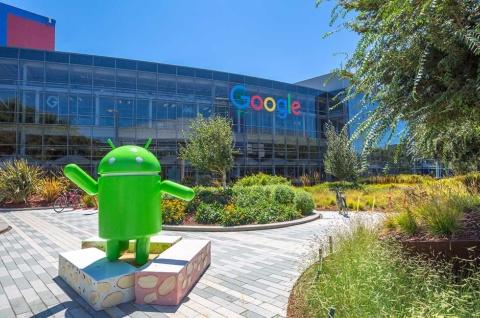 米カリフォルニア州マウンテンビューのグーグル本社エリアのオフィス(出所/Shutterstock.com)