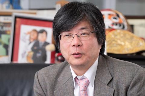ブシロードの創業者で取締役の木谷高明氏