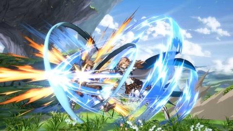 『グラブル ヴァーサス』は競技性の高い対戦格闘ゲームとして開発されている