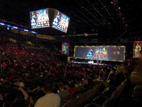 2018年、米国のラスベガスで開催された世界最大級の格闘ゲーム大会EVO2018では、『鉄拳7』の大会も開催され、盛り上がった (C)BANDAI NAMCO Entertainment Inc.