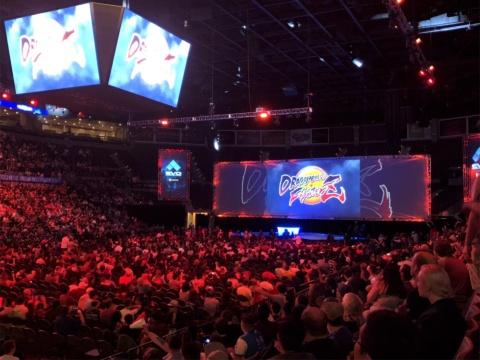 EVOでは『ドラゴンボール ファイターズ』の大会も開催 (C)バードスタジオ/集英社・フジテレビ・東映アニメーション (C)BANDAI NAMCO Entertainment Inc.