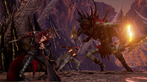 『CODE VEIN』はPlayStation 4/Xbox One/STEAM向けのタイトル (C)BANDAI NAMCO Entertainment Inc.