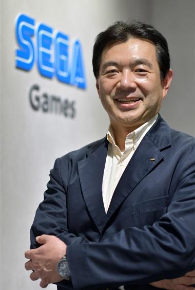 セガゲームスの松原健二代表取締役社長 COO