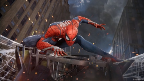SIEの『Marvel's Spider-Man』。(C) 2018 MARVEL, (C) 2018 Sony Interactive Entertainment LLC, Developed by Insomniac Games, Inc.