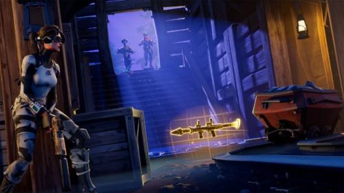 米エピック・ゲームズの『フォートナイト』。新しいゲームの遊び方も切り開いているという (C) 2019, Epic Games, Inc.