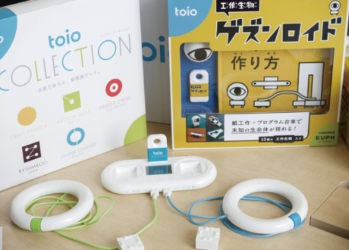 """ソニーからSIEに""""移籍""""し、再出発したロボットトイ「toio」(写真:加藤康)"""