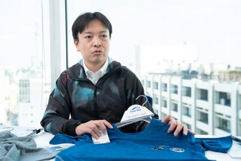 北村氏は「Find-Out」の立ち上げから参画。デザイン面も手掛けている。仕事着はもちろんFind-Outだ。