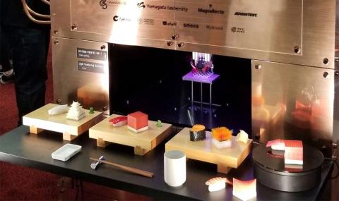 スシ・シンギュラリティは3Dプリンターで自由な形状の寿司を作る