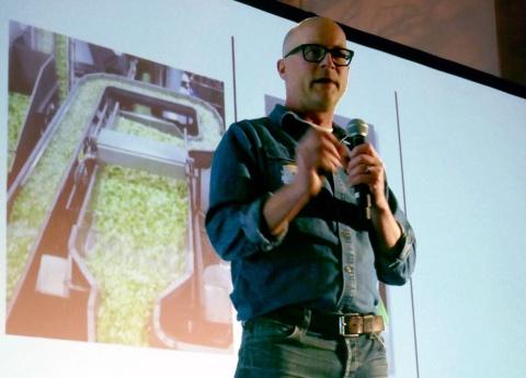 野菜をオゾンで洗浄する提案をした、米エンソリューション